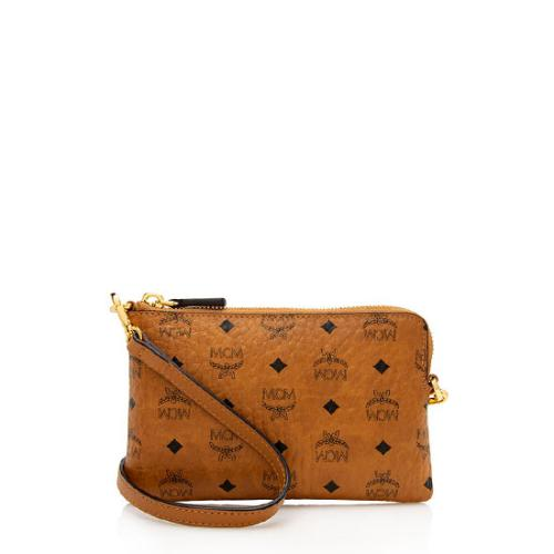 MCM Visetos Mini Convertible Crossbody Belt Bag