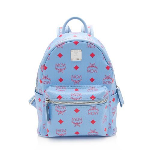 MCM Visetos Mini Stark Backpack