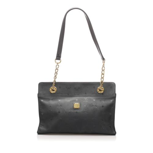 MCM Visetos Nylon Shoulder Bag