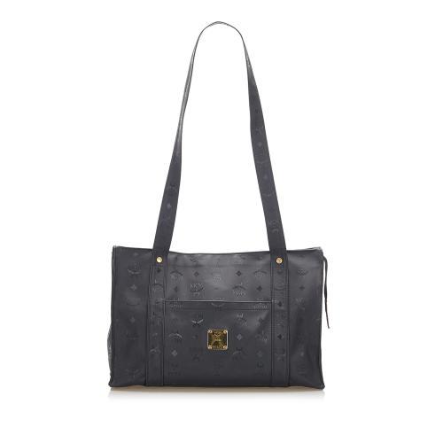 MCM Visetos Nylon Shoulder Bag