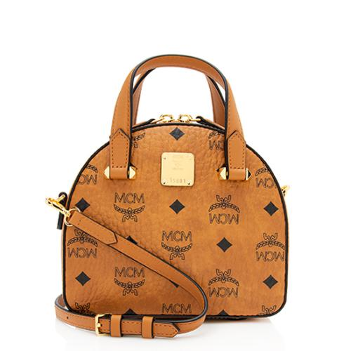 MCM Visetos Original Essential Mini Tote