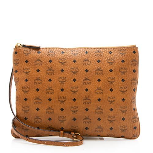 MCM Visetos Original Pouch Medium Crossbody Bag