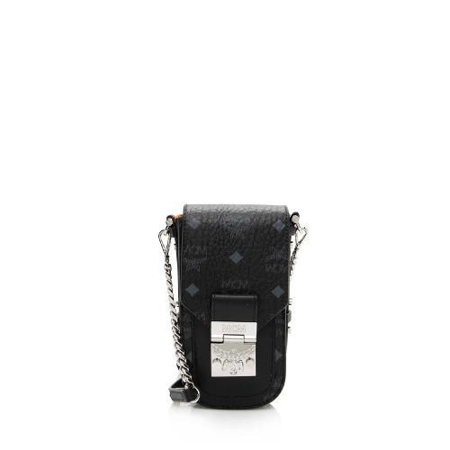 MCM Visetos Patricia Mini Crossbody Bag