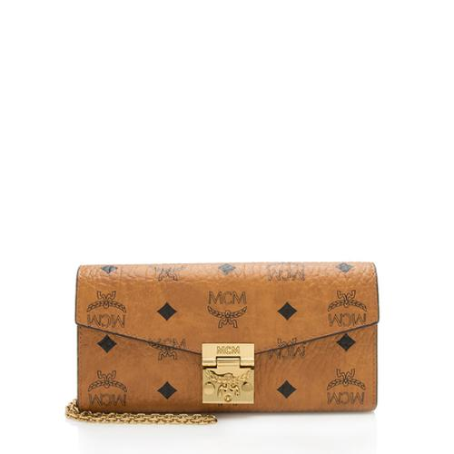 MCM Visetos Patricia Wallet On Chain Bag