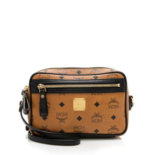 MCM Visetos Small Crossbody Bag