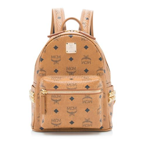 MCM Visetos Stark Mini Backpack