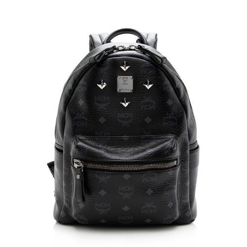 MCM Visetos Stark Sprinkle Small Backpack