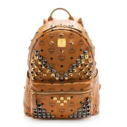 MCM Visetos Studded Stark Medium Backpack - FINAL SALE
