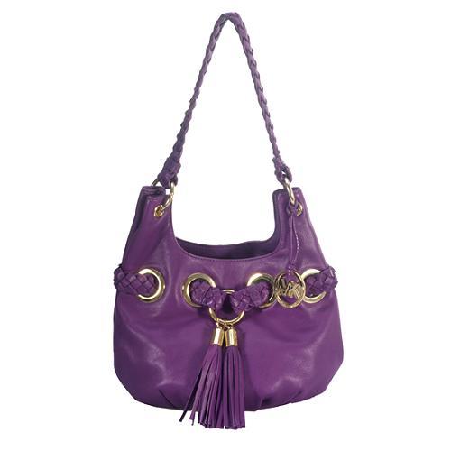 MICHAEL Michael Kors Braided Grommet Small Shoulder Handbag