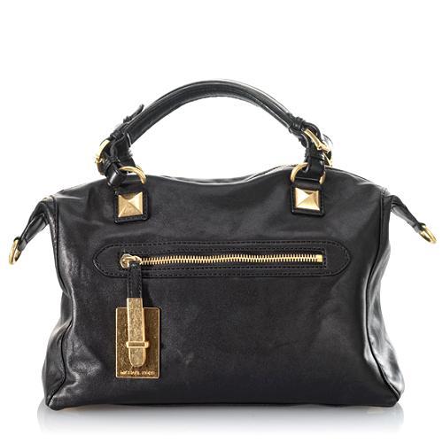 MICHAEL Michael Kors Calista Derby Large Satchel Handbag