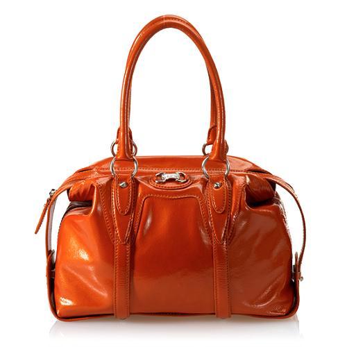 MICHAEL Michael Kors Chestertown Patent Leather Satchel Handbag