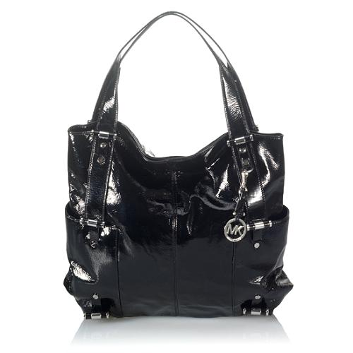 MICHAEL Michael Kors Gibson Patent Leather Large Tote