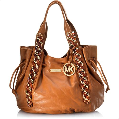 MICHAEL Michael Kors ID Chain Large North/South Tote