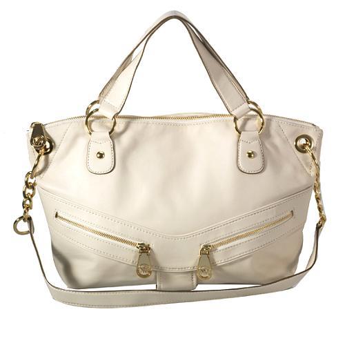 MICHAEL Michael Kors Jamesport Large Zip Top Satchel Handbag
