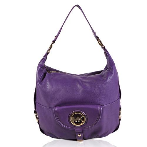 MICHAEL Michael Kors Leather Fulton Shoulder Handbag