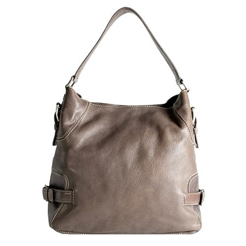 MICHAEL Michael Kors Leather Hobo Handbag
