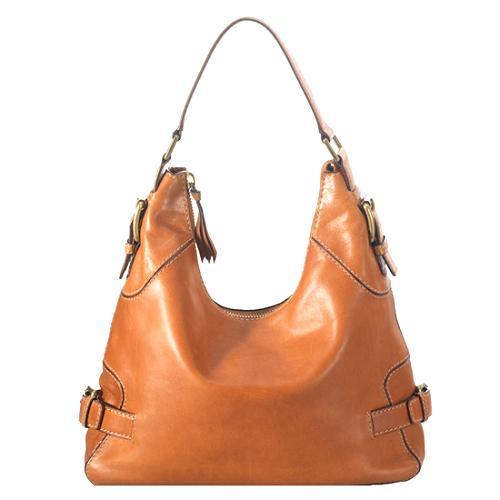 MICHAEL Michael Kors Leather Hobo Handbag