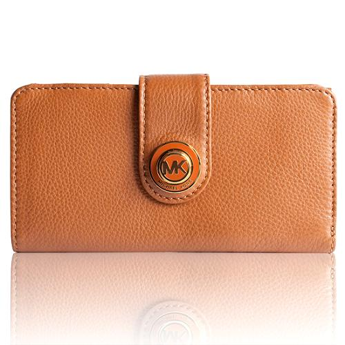 MICHAEL Michael Kors Leather Large Continental Wallet