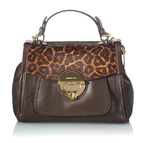 MICHAEL Michael Kors Medium Leather SatchelHandbag