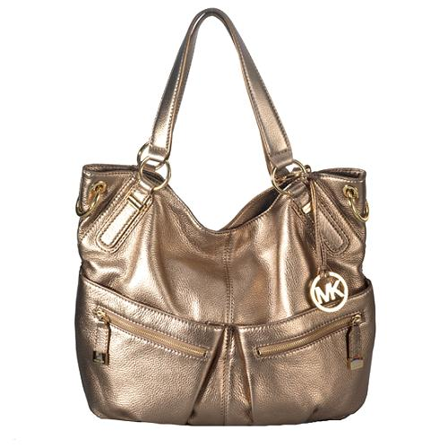 d007d5bbcad9 Michael Kors Handbag Color Chart. MICHAEL Michael Kors Metallic Layton  Large Shoulder Handbag