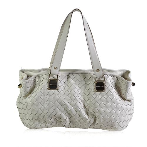 MICHAEL Michael Kors Newbury Large Woven Satchel Handbag
