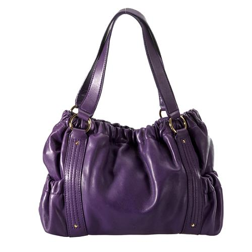 MICHAEL Michael Kors Prescott Leather Satchel Handbag