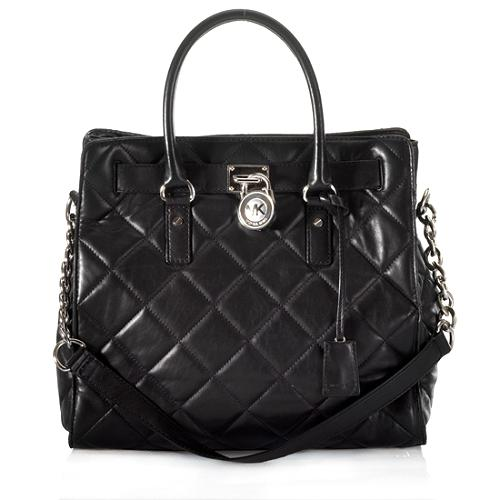 MICHAEL Michael Kors Quilted Hamilton Large North/South Tote