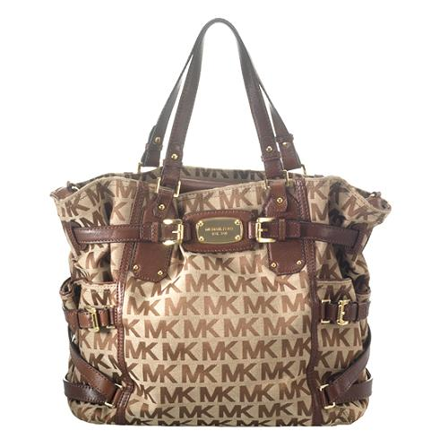 MICHAEL Michael Kors Signature Gansevoort Tote and Matching Wallet