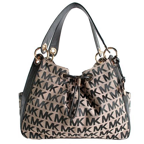MICHAEL Michael Kors Signature Ludlow Shoulder Handbag