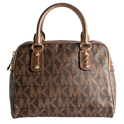 MICHAEL Michael Kors Signature Small Satchel Handbag