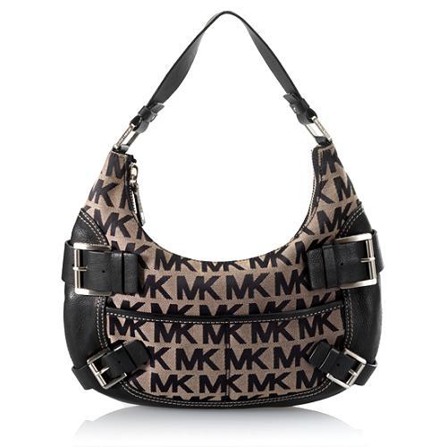 MICHAEL Michael Kors Signature Yacht Club Shoulder Handbag