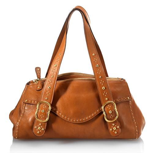 MICHAEL Michael Kors Studded Satchel Handbag