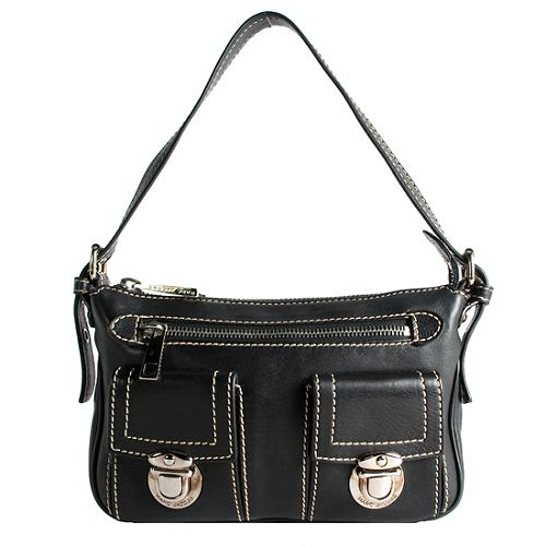 Marc Jacobs Cammie Leather Shoulder Handbag