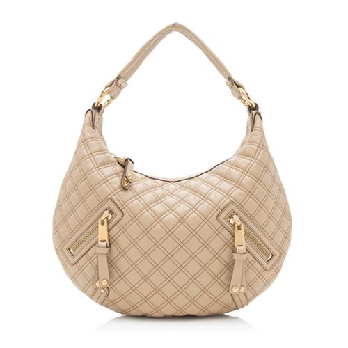 Marc Jacobs Leather Banana Hobo