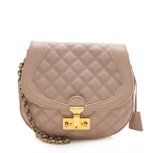 Marc Jacobs Leather Baroque Round Shoulder Bag