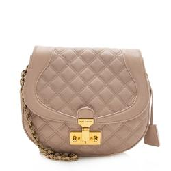 Marc Jacobs Leather Baroque Round Shoulder Bag