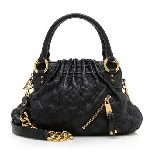 Marc Jacobs Leather Cecilia Satchel
