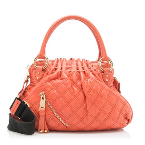 Marc Jacobs Leather Cecilia Small Satchel