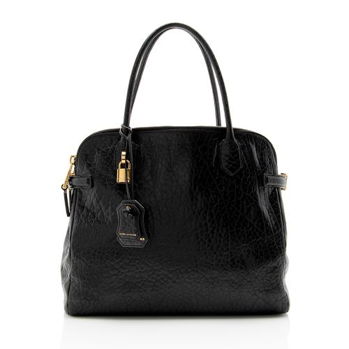Marc Jacobs Leather Double-Zip Lock Tote - FINAL SALE