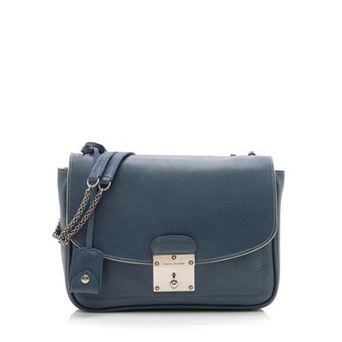Marc Jacobs Leather Mini Polly Shoulder Bag  - FINAL SALE