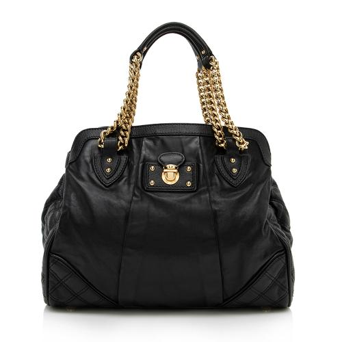 Marc Jacobs Leather Mix Dash Tote
