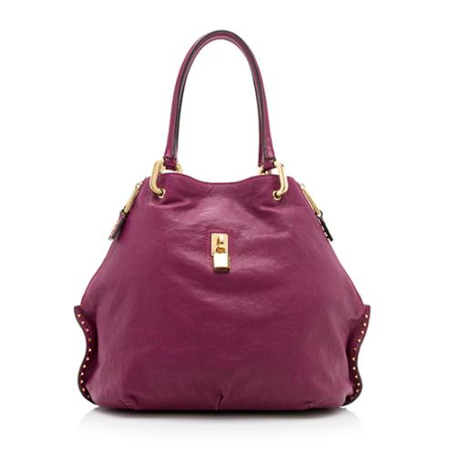 Marc Jacobs Leather Paradise Amber Tote