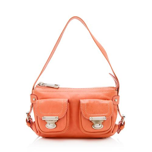 Marc Jacobs Leather Quinn Small Shoulder Bag