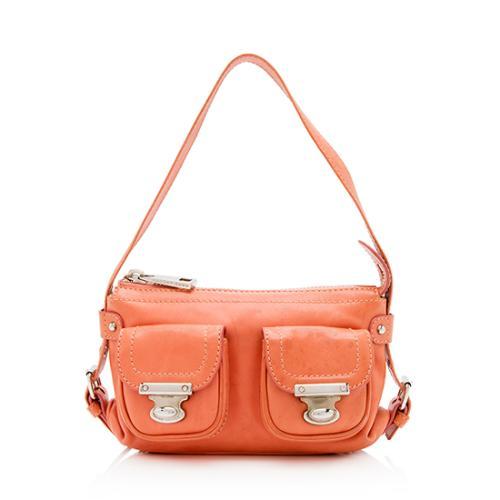 3d743500d3ed Marc Jacobs Leather Quinn Small Shoulder Bag