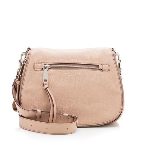 Marc Jacobs Leather Recruit Nomad Shoulder Bag