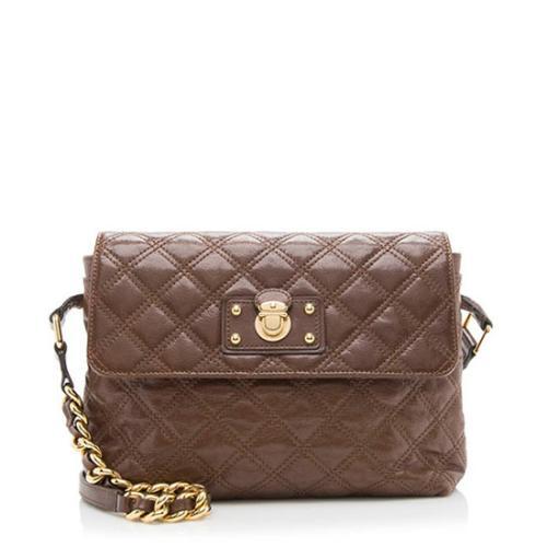 Marc Jacobs Leather Single Large Shoulder Bag