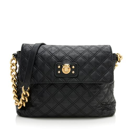 Marc Jacobs Leather Single XL Shoulder Bag