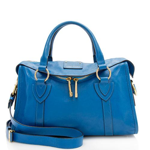Marc Jacobs Leather Small Fulton Satchel