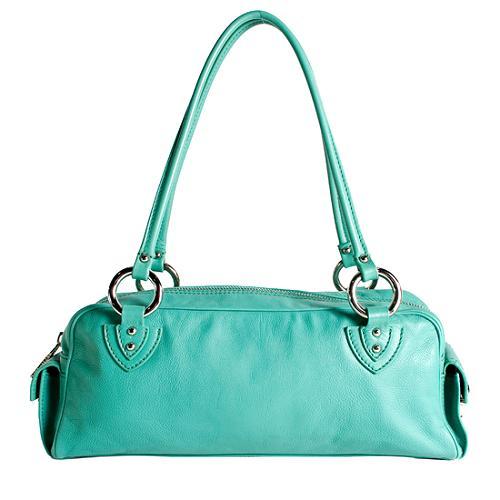 Marc Jacobs Leather Small Satchel Handbag
