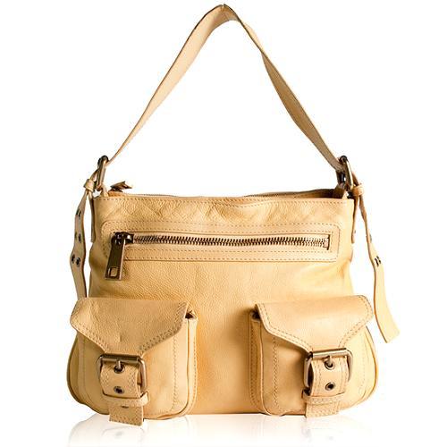 Marc Jacobs Leather Sophia Shoulder Handbag - FINAL SALE